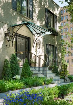 Outdoor Oasis In Nw Washington Traditional Exterior Dc Metro Anthony Wilder Design Build Inc Front Door Awning Door Awnings Garden Canopy