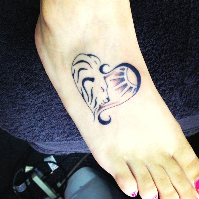 Leo Tattoo Similar To My Drawing Maybe Rainbow Leo Symbol Dreams