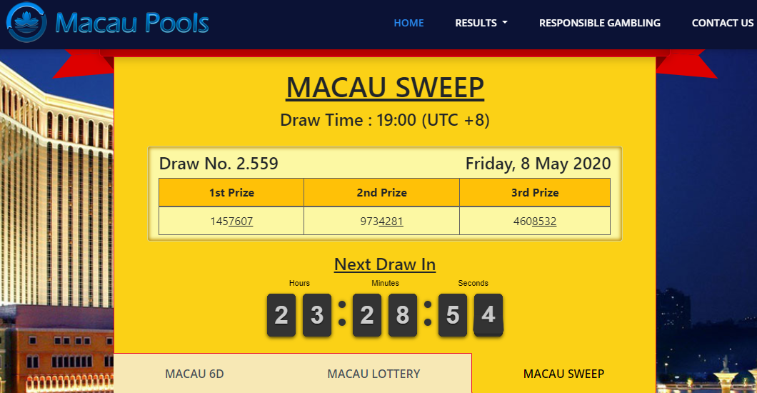 Check spelling or type a new query. Result Live Macau 4d - RESTULS