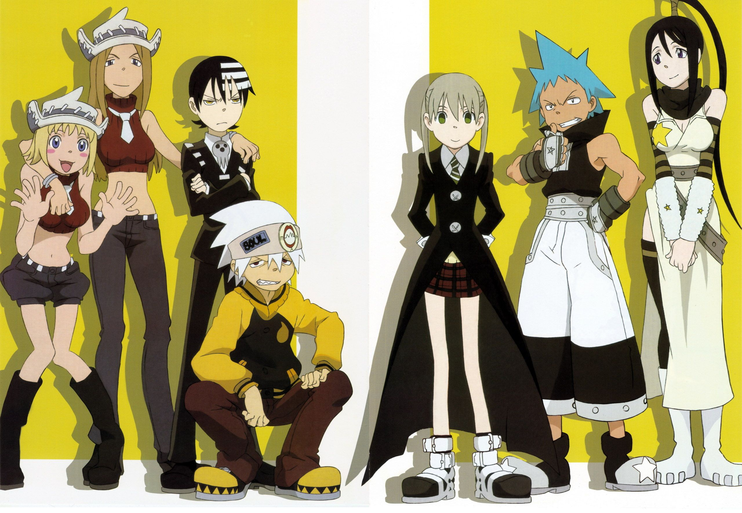 Soul Eater (one of my fave toonami anime) characters