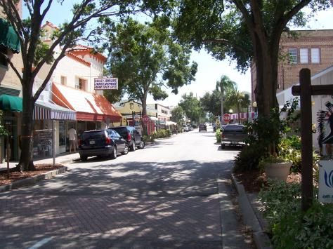 Cocoa Florida Historic Downtown Village
