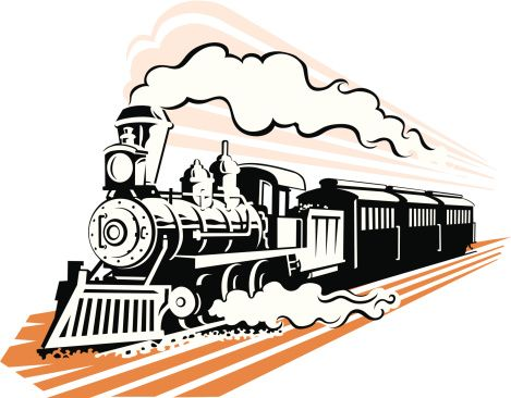 Line Art Graphic Of Steam Train Emerging From A Tunnel Train Tattoo Train Drawing Train Sketch