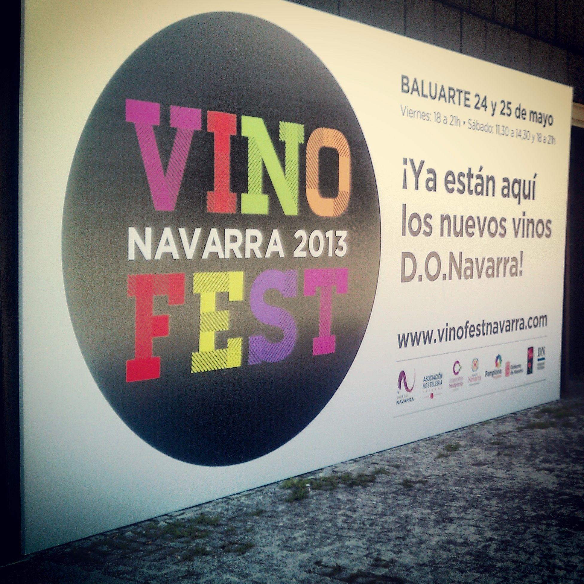 Vinofest Navarra llega a Pamplona. Baluarte acoge la muestra degustación con 20 bodegas.
