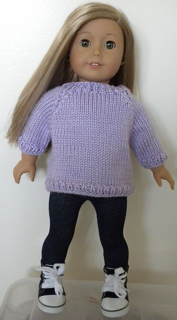 Knitting patterns galore basic 18 inch doll sweater pinteres knitting patterns galore basic 18 inch doll sweater more dt1010fo