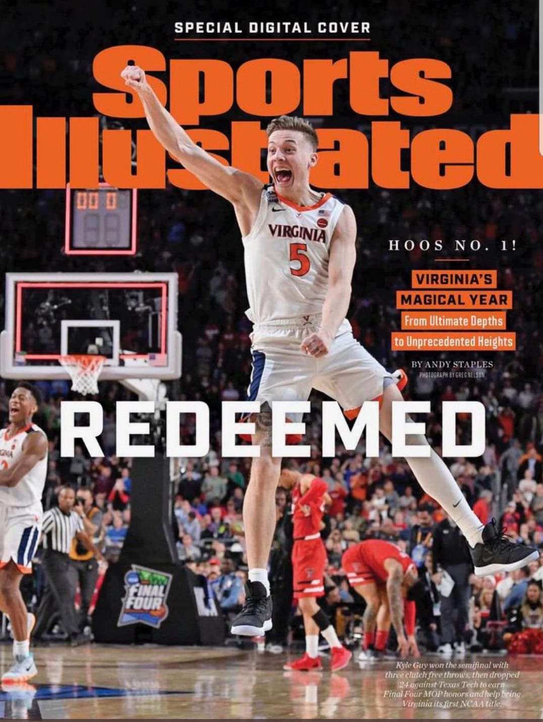 Pin by Linda Lewis on UVA Sports illustrated covers