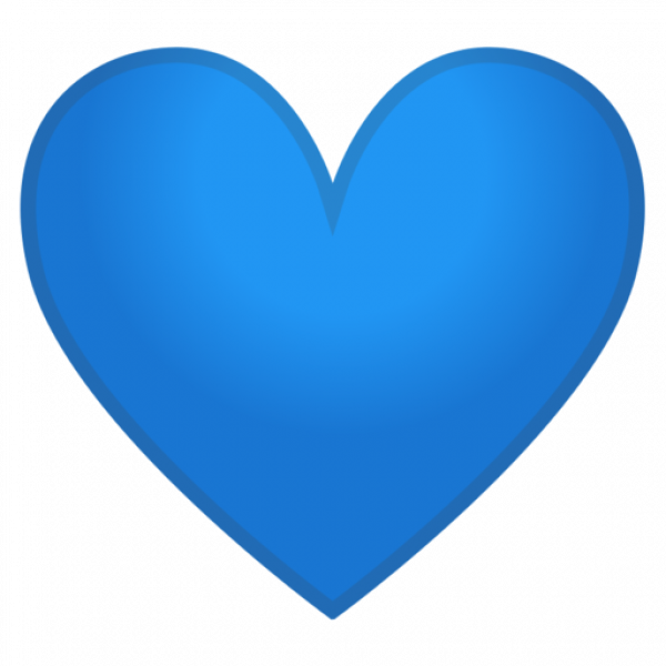 Google Android Pie Blue Heart Emoji Transparent Blue Heart Emoji Heart Emoji Blue Heart Emoji Meaning