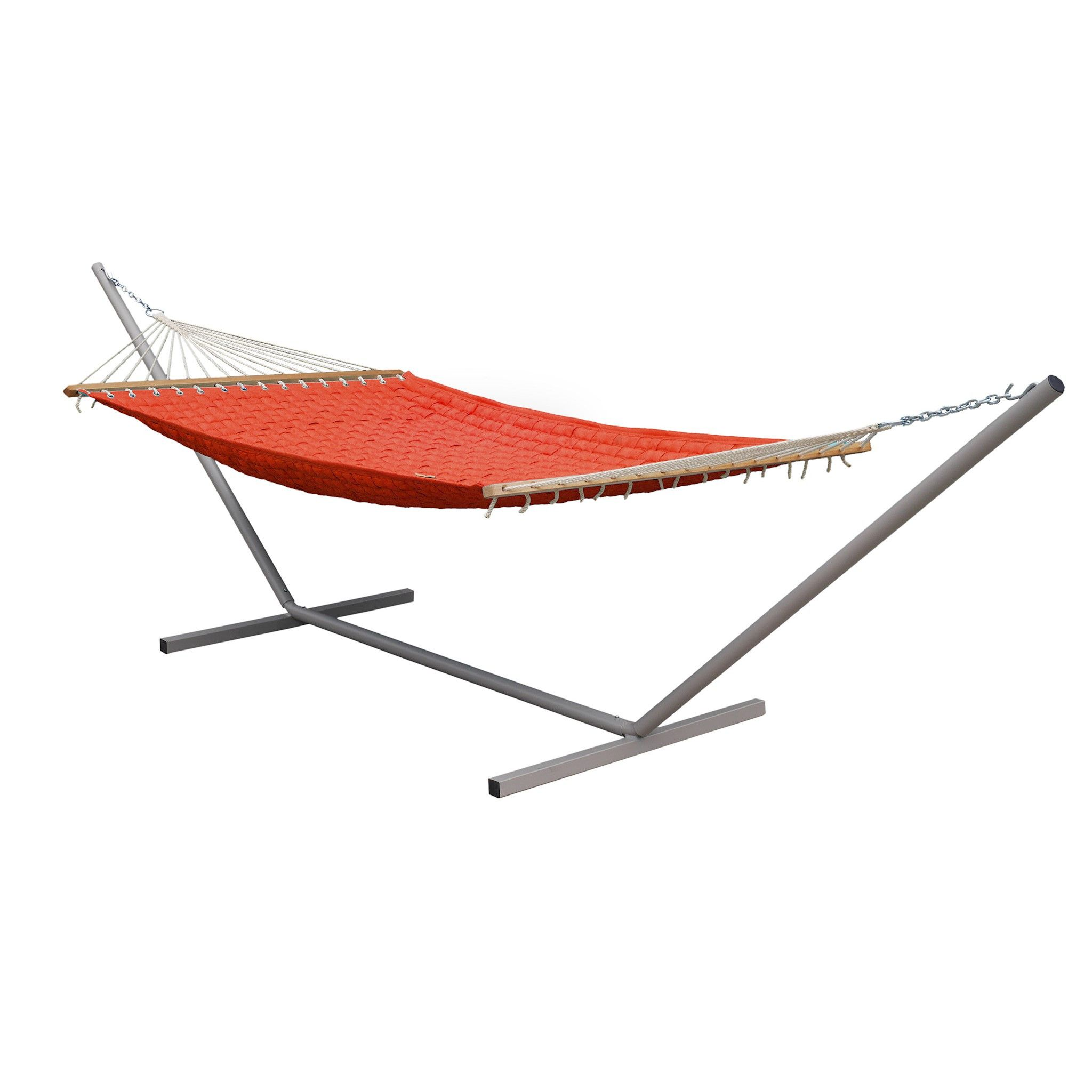 the hamaca deck set includes a spacious basket weave hammock which is plenty big enough for 2 adults  the hammock is a rich chilli red colour     it u0027s another  screaming deal from the  wedo guys http      rh   pinterest