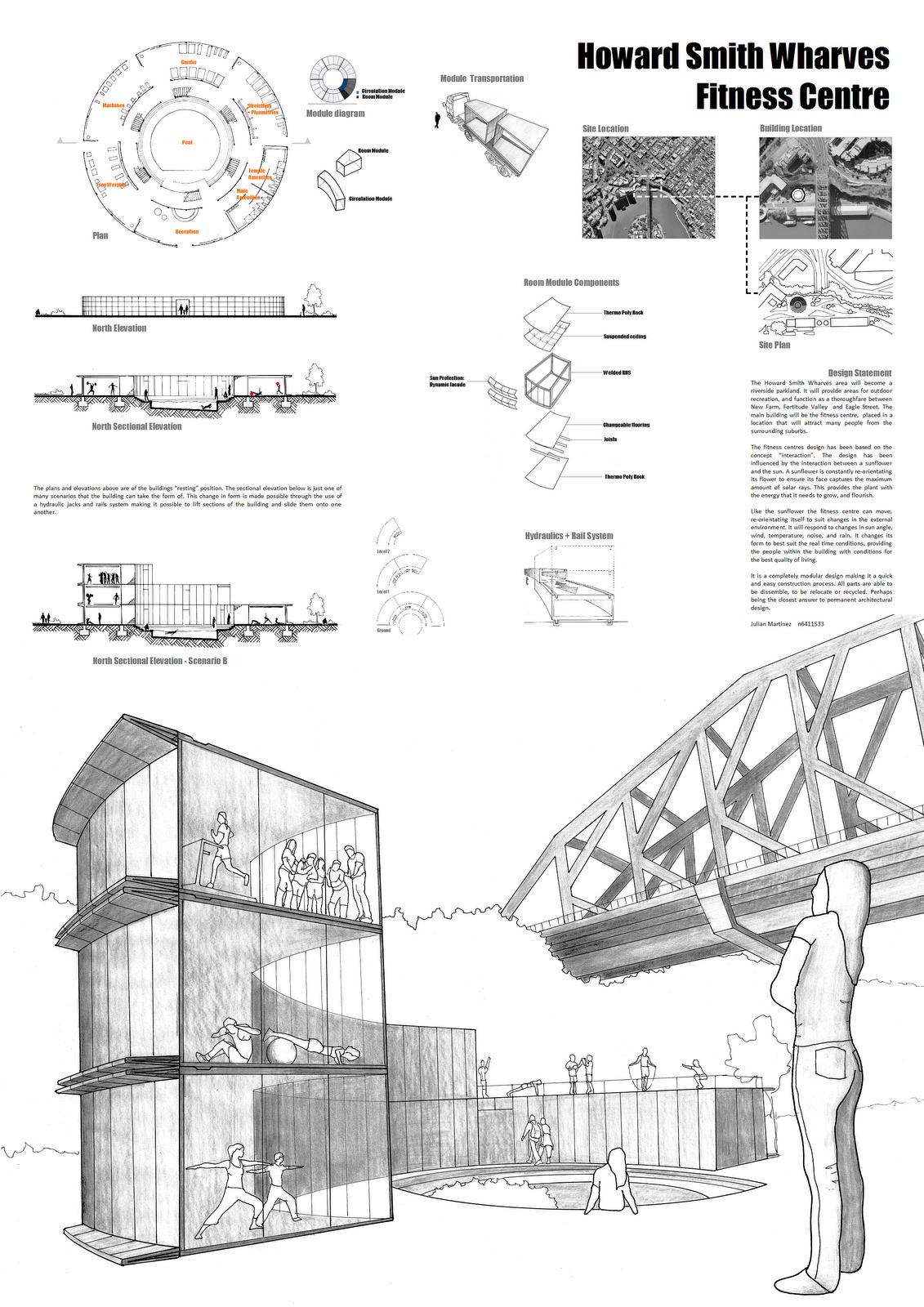 Architecture Presentation Posters   ... Qut Bachelor Design Architecture  2nd Major In Landscape Architecture