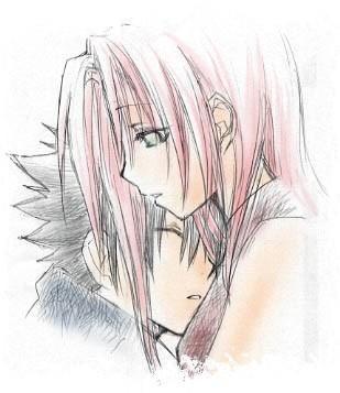 Sakura A Sasuke Sasuke Sakura Dibujos Y Sasuke