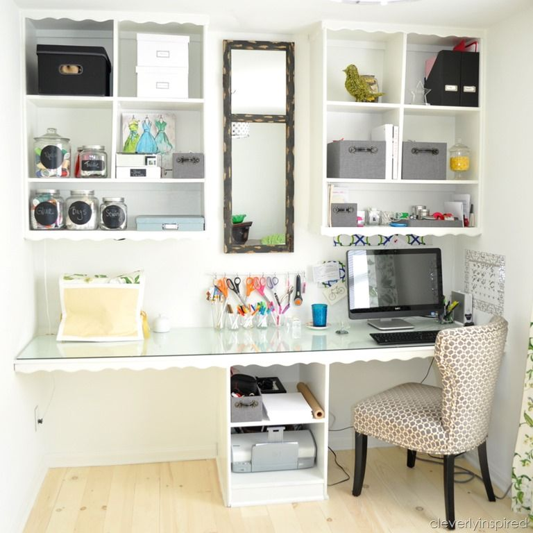 Office Craft Room Reveal Easy Home Organization Home