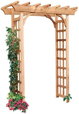 Easy Arbor Plans Google Search Garden Archway Garden Arches