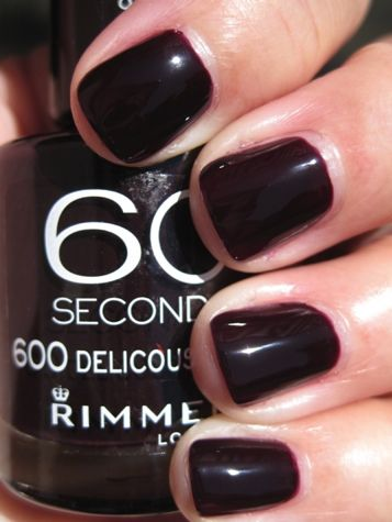 Weekly Cheap Secret: Rimmel 60 Seconds Nail Polish in Deliciously ...