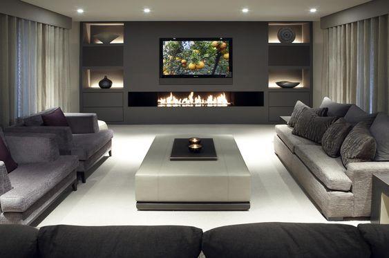 Soggiorni moderni 100 idee e stile per il soggiorno for Living con camino