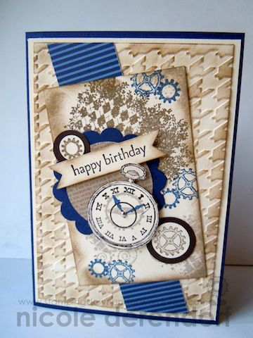 lovely card by Nicole Derendorf