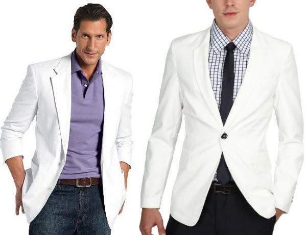 Men\'s White Parka http://www.findabuy.net/mens-white-blazer ...