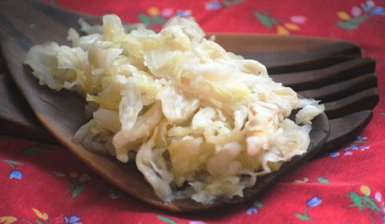 Flavorful, crunchy home-made sauerkraut is easy to make at home.  Cool weather…