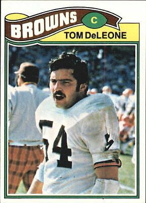 1977 Topps Cleveland Browns Football Card #283 Tom DeLeone - NM