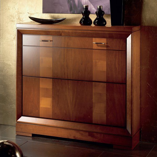 Taquill n zapatero 2135 muebles zapatero pinterest zapateras mueble zapatero y madera natural - Taquillones de entrada ...