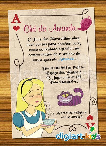 Pin De ната Em Alice In Wonderland Party Pinterest Wonderland