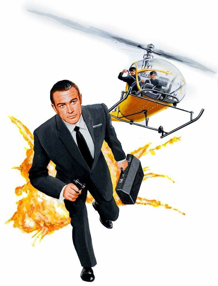 Sean Connery As 007 In From Russia With Love James Bond