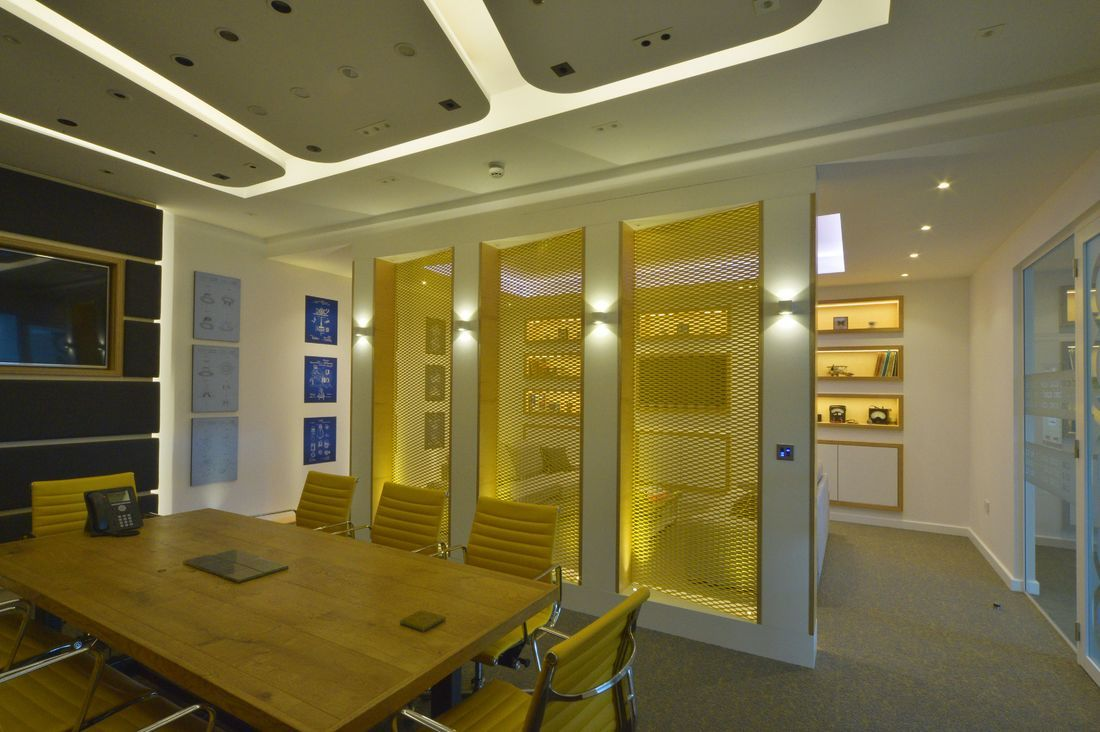 Cadisch Head Office privacy partition | Walls & Partitions ...