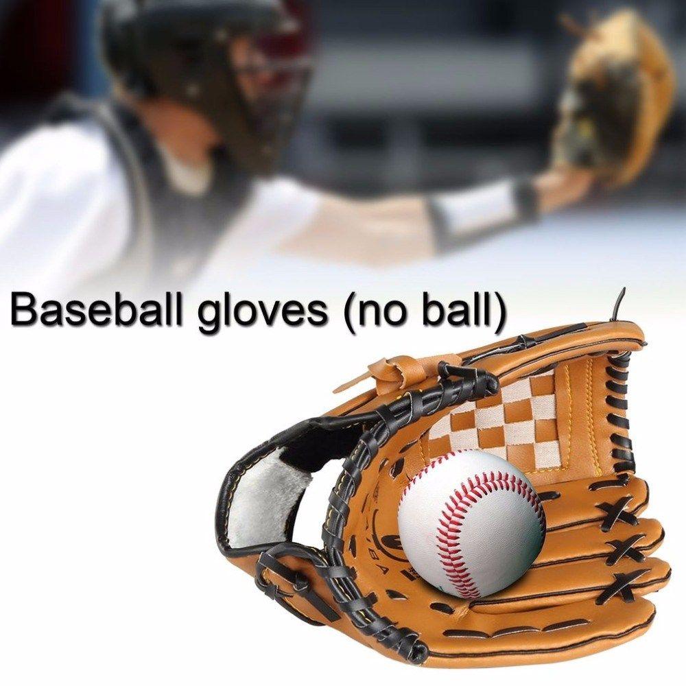 Prime Sale Pu Leather Based Baseball Glove Left Hand 10 5 12 5 Inch Baseball Softball Coaching Gloves Guantes Beisbol New Sportnfun Tk Baseball Glove Baseball Accessories Softball Training