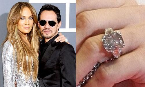 Jennifer Lopez Engagement Ring From Marc 6
