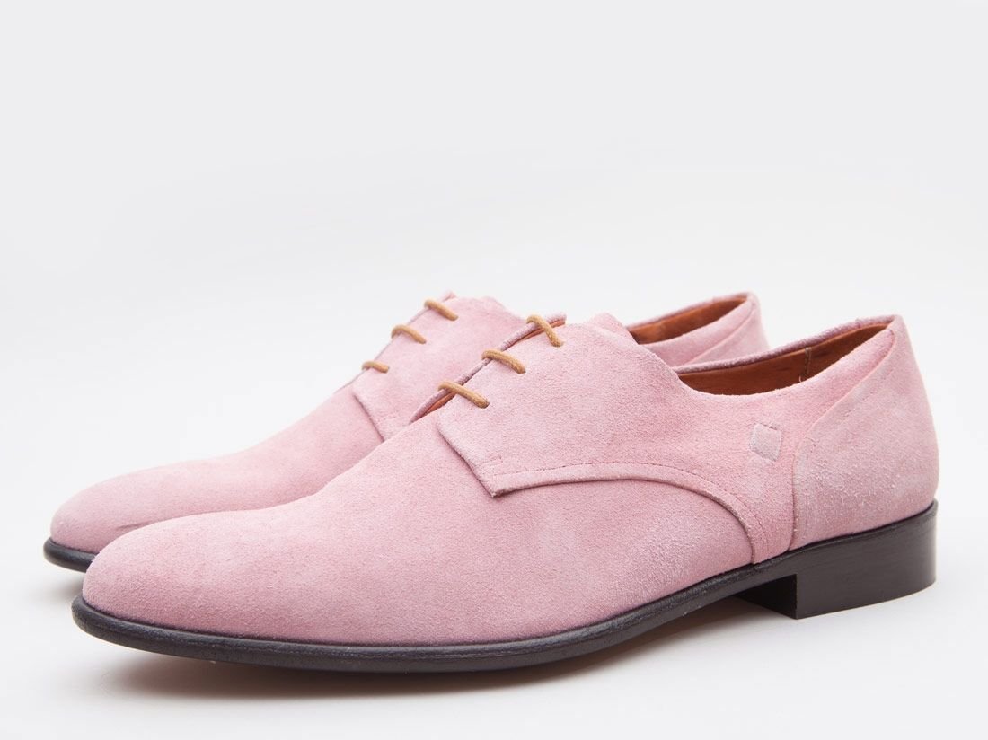 Pink suede shoes, Mens pink dress shoes