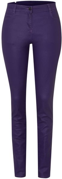 Coated Skinny Jeans - Lyst