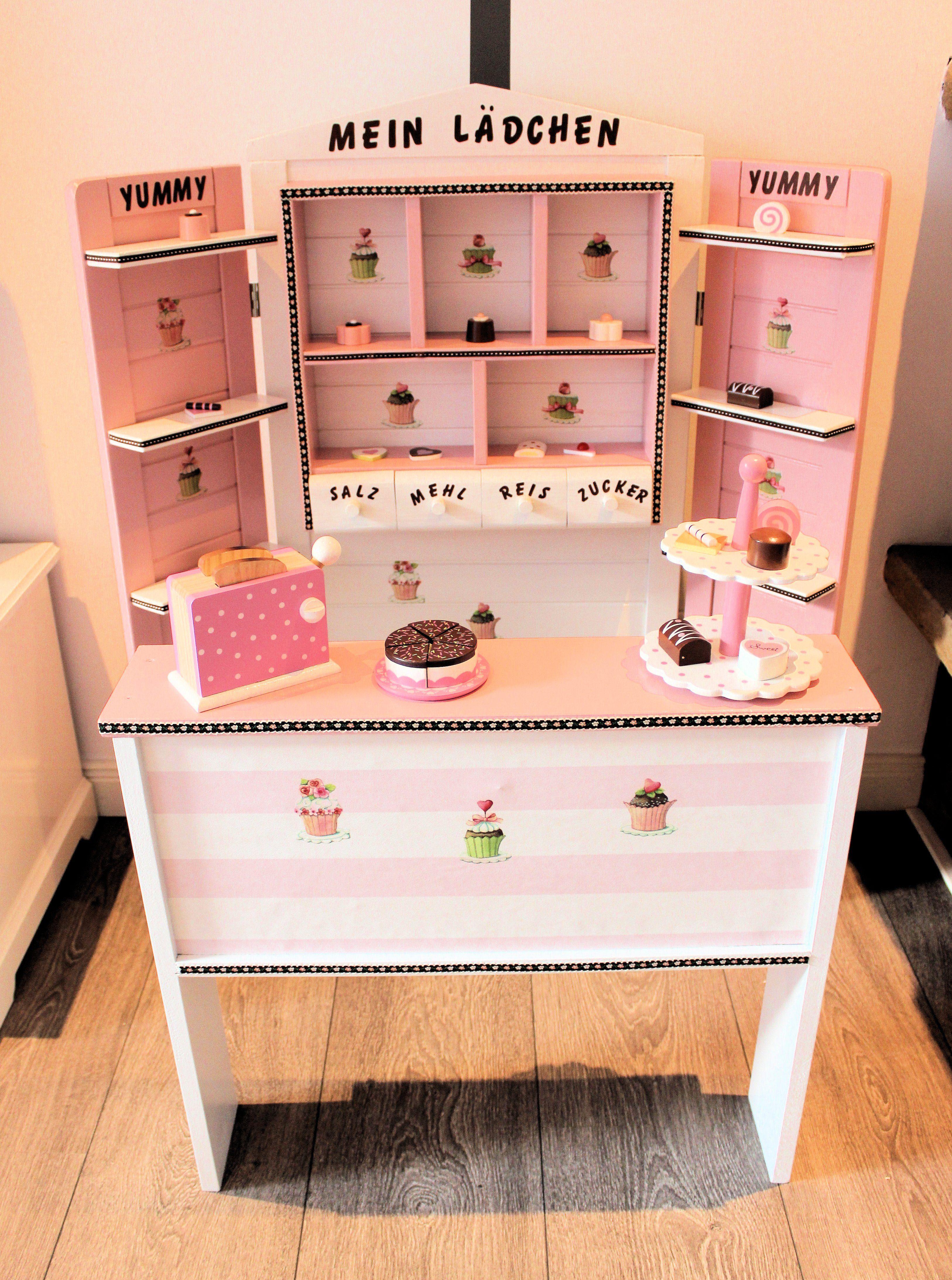 kaufladen rosa weiß braun shabby cupcakes | domis pusteblume in 2018