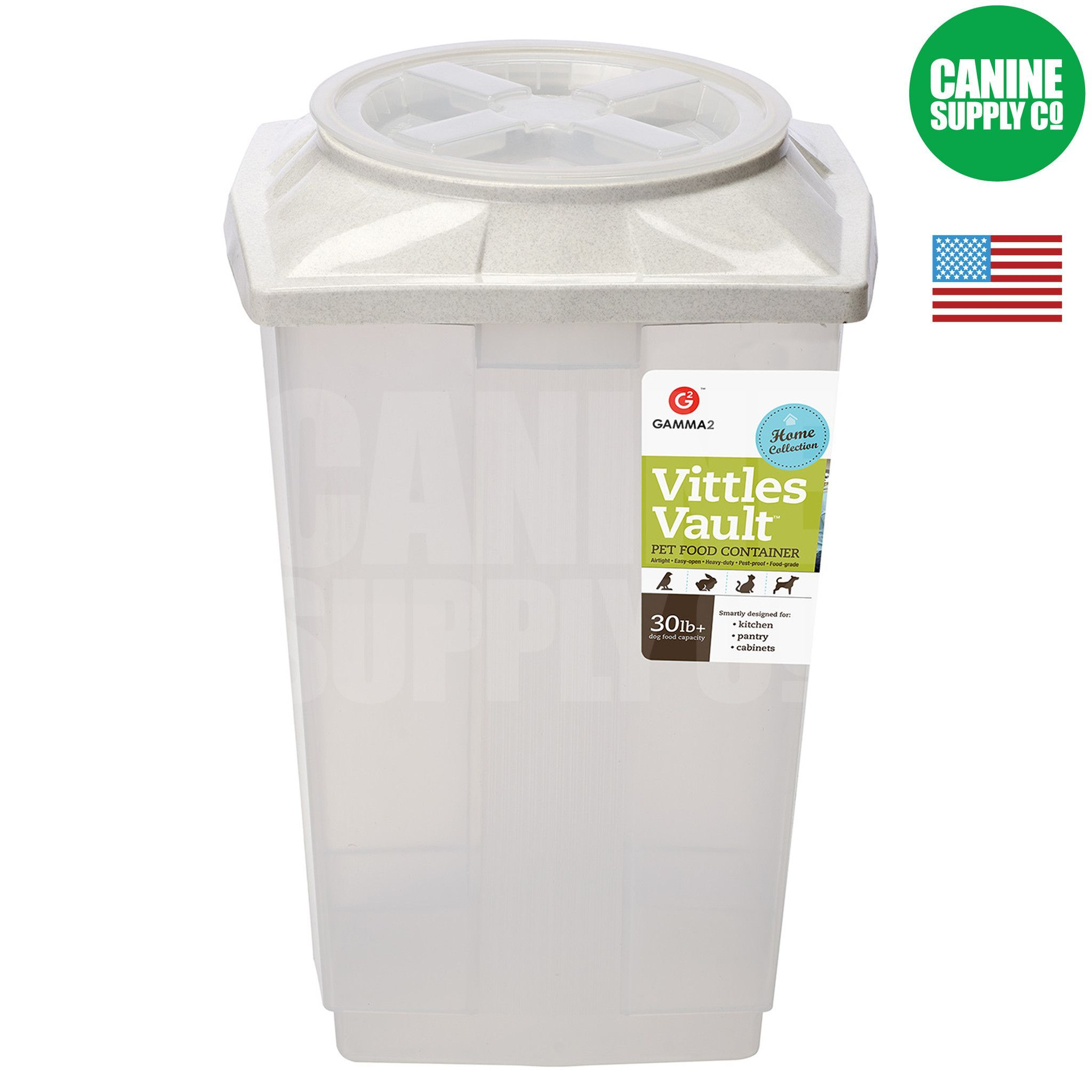 Home Dog Food Storage 30 Lb Container Dog Food Recipes Dog