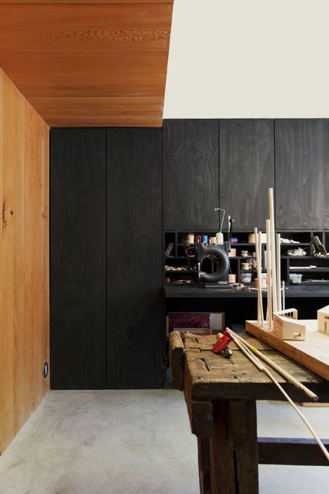 Scott & Scott Architects build their own timber-lined studio in Vancouver