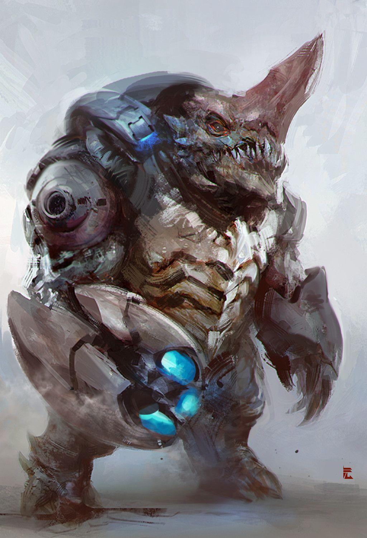 Alien Concept Art Monster