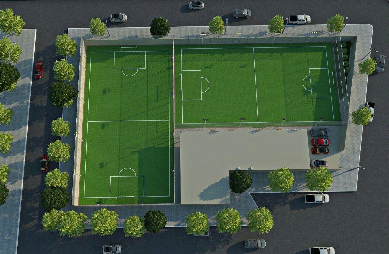 Pin De Olimpo Vergara Em Soccer Park Sabana Campo De Futebol