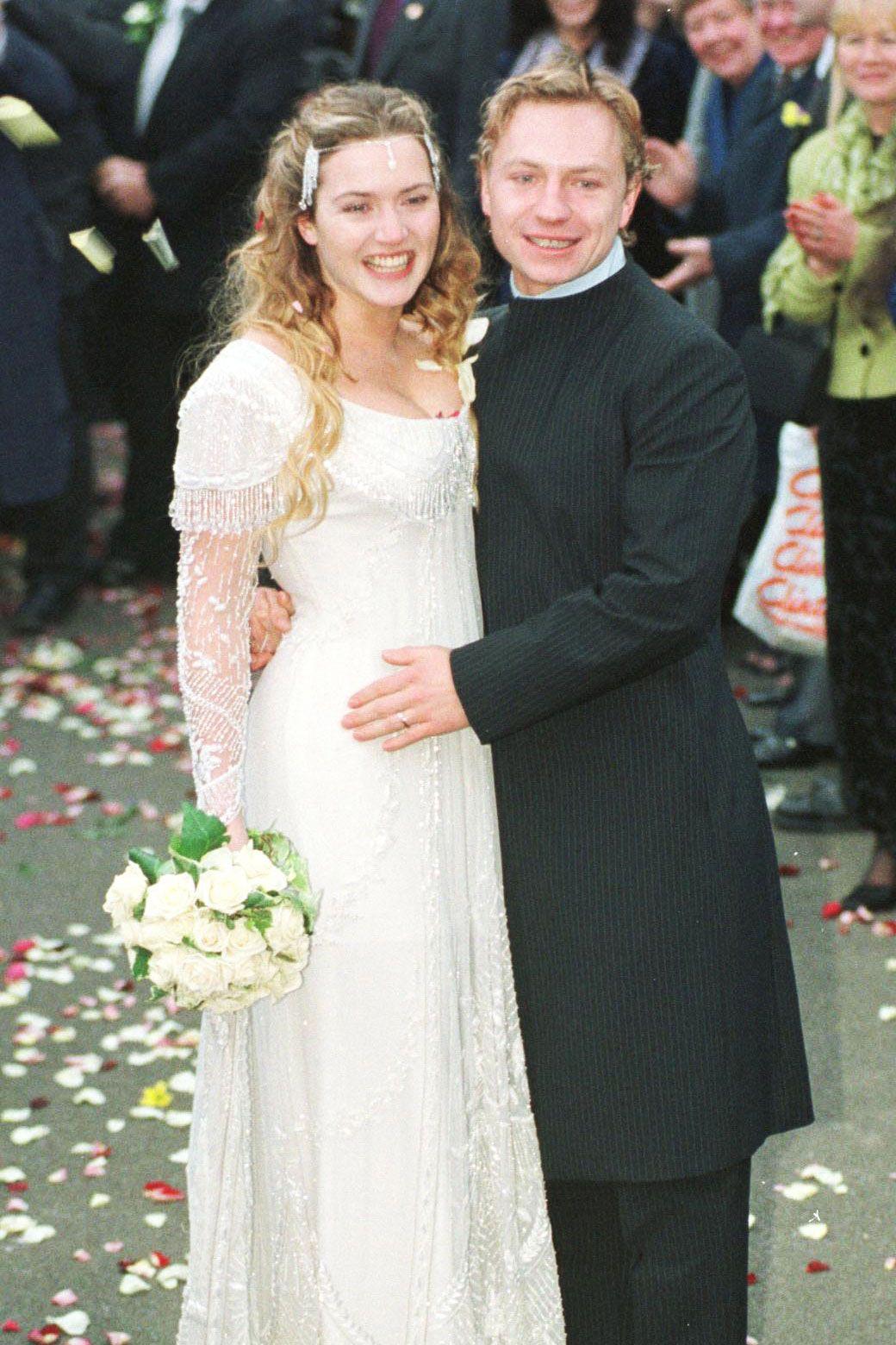 Kate Winslet and ex-husband Jim Threapleton wedding pic
