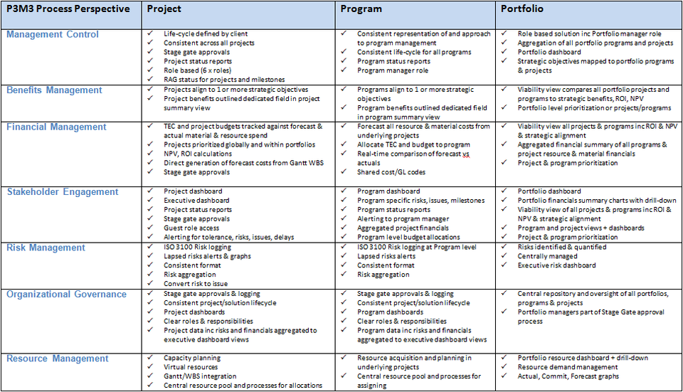 Msp Programme Blueprint Example  Google Search  Project