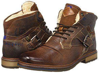 Bugatti Herren 321344513200 Klassische Stiefel, Braun (Dark Brown), 41 EU:  Amazon