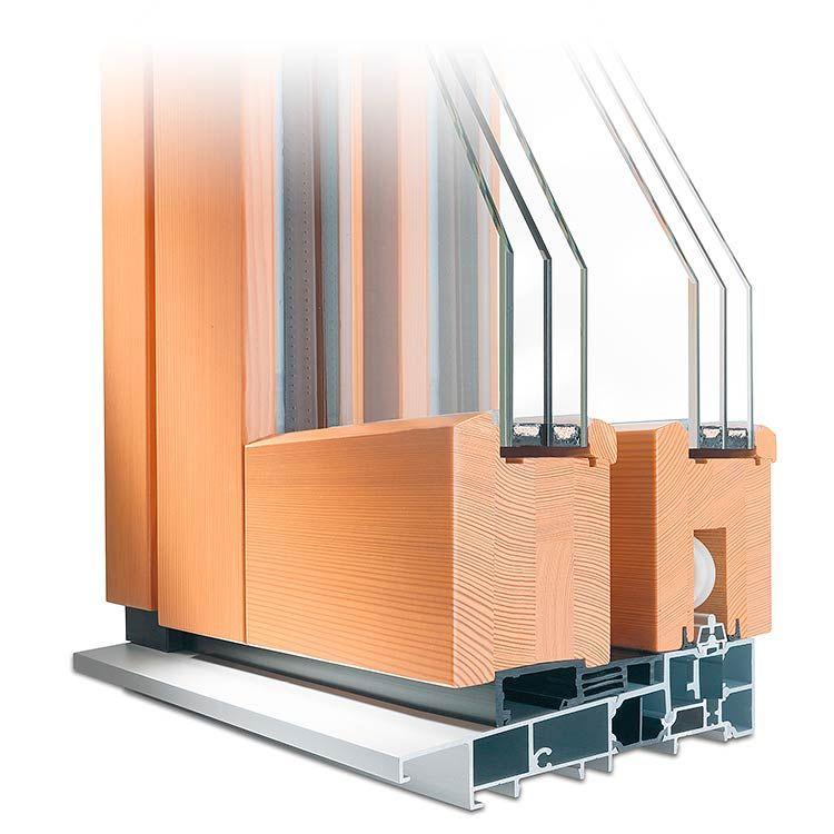 Hebeschiebetür Aus Holz Profil Classic Terrassentüren Schiebe