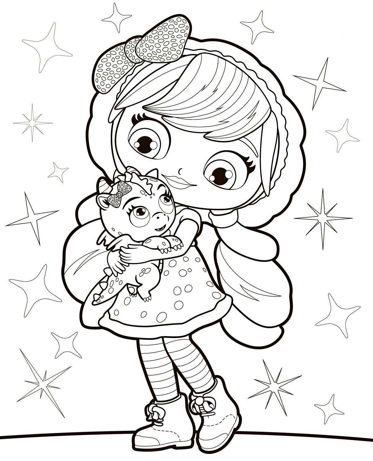 Little Charmers Drawing Pictures Little Charmers Nick Jr Coloring Pages Coloring Pages