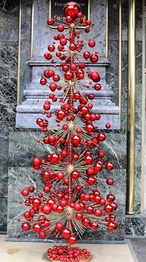 Christmas Tree Flower Power : It s almost christmas very cool quot tree by