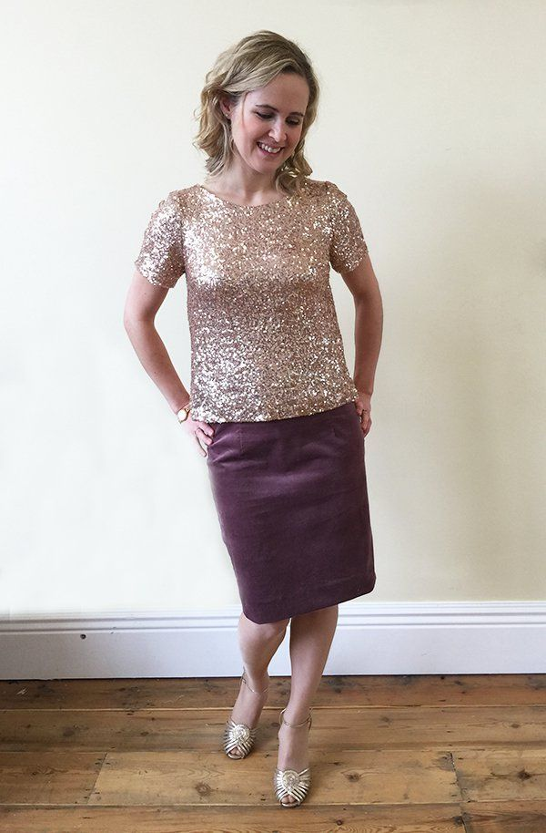 245da7a78a8 The Party Wear Blog Series - The Glitzy Glam Sequin Top