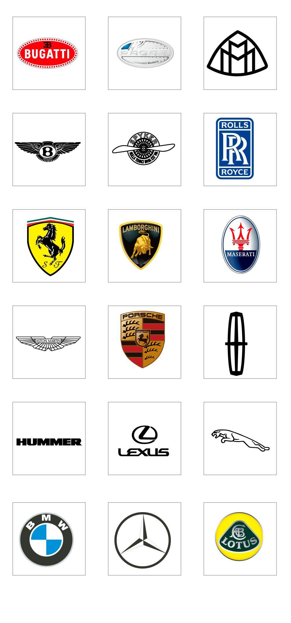 Luxury Car Logo AI in 2020 Luxury car logos, Car brands