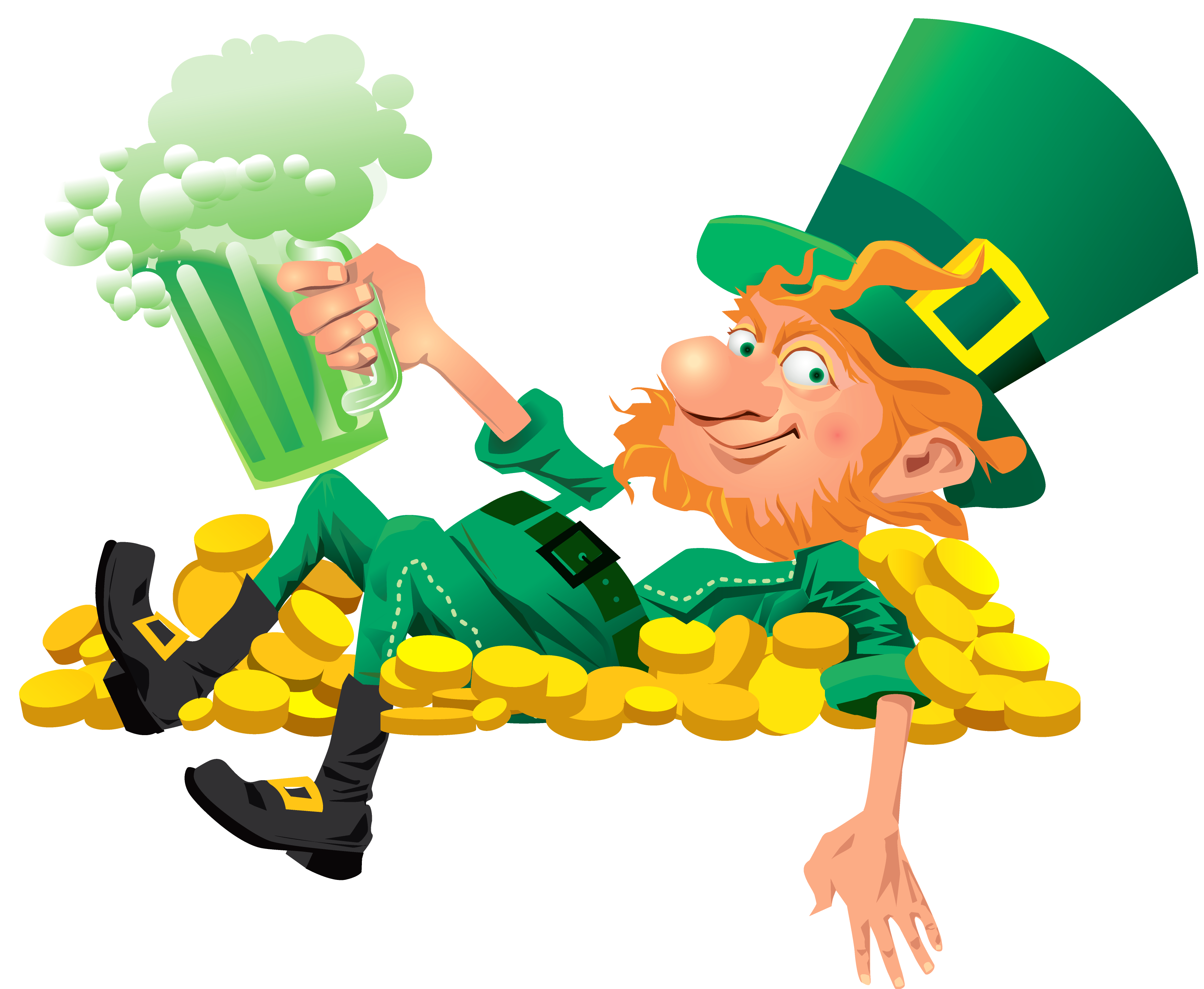 leprechaun beer clip art images free irish pub ideas pinterest rh pinterest com au dancing leprechaun clipart free dancing leprechaun clipart free