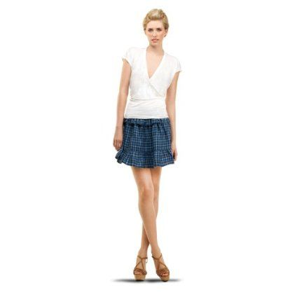 RUFFLED SHORT SKIRT $98.00