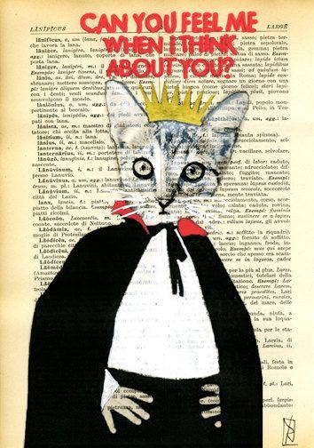 Print illustration Mixed Media Painting poster art