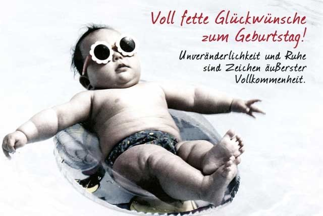 Lustige Grusskarte Zum Geburtstag Voll Fette Gluckwunsche Zum