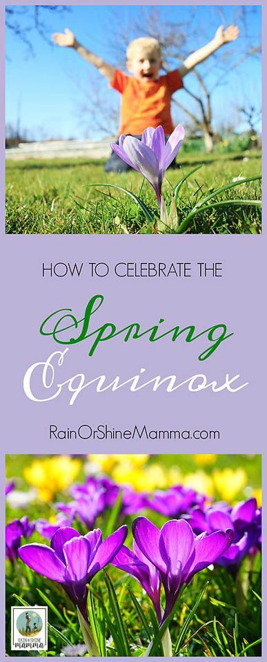 How to Celebrate the Spring Equinox. Looking for outdoor spring activities for the kids? Look no further! Greet the spring with these five nature activities for the entire family. Rain or Shine Mamma.