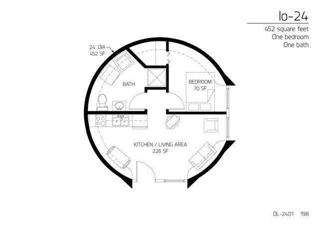 Floor Plans 1 Bedroom How To Plan Floor Plans Round House Plans