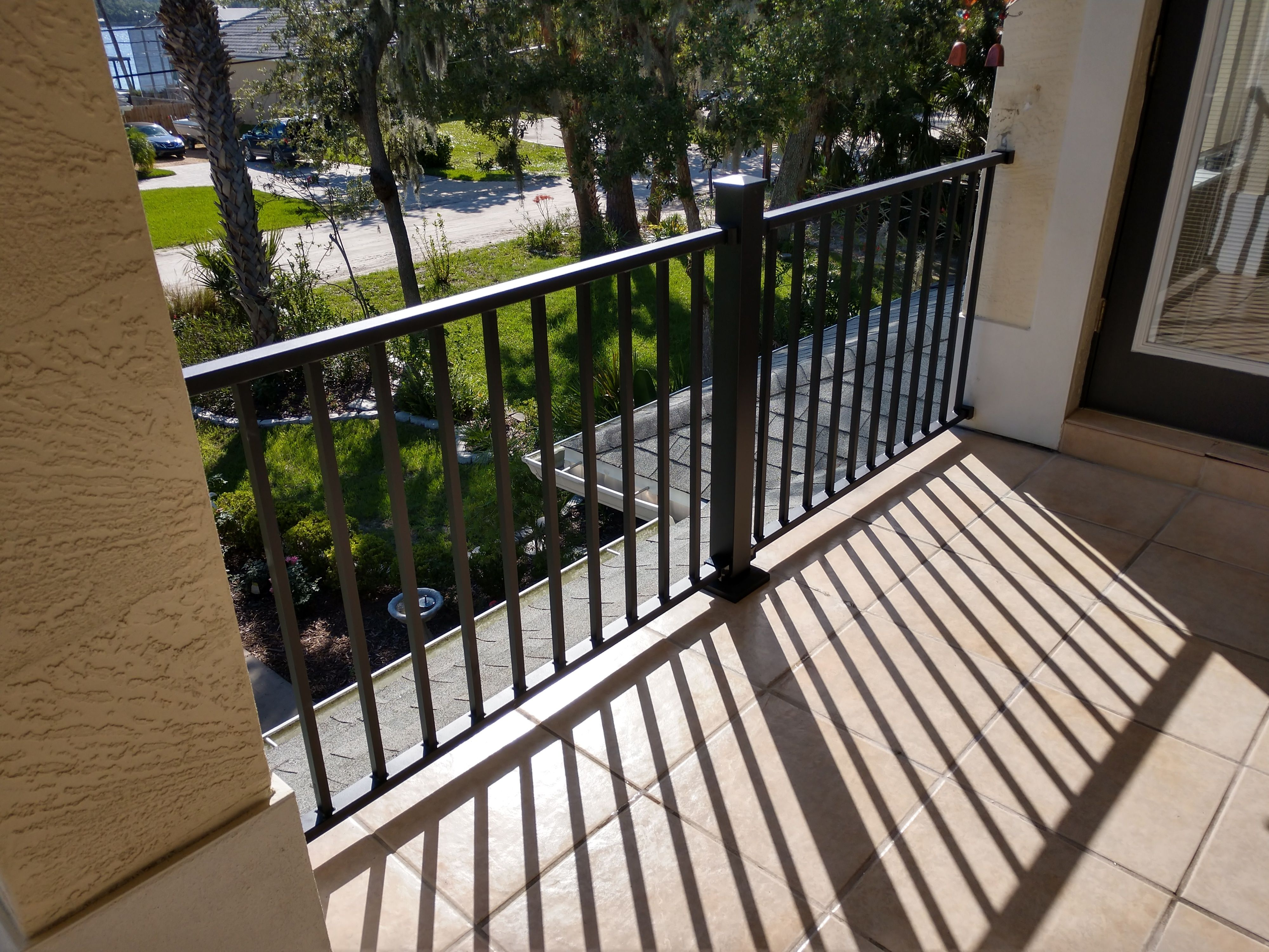Fortress Al13 Aluminum Railing Panel System Metal Deck Railing Deck Railings Deck Lighting