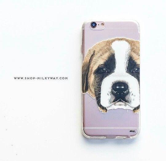 Saint Bernard phone case